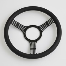 China 14'' Wood Half Wrap Billet Mazda Steering Wheel