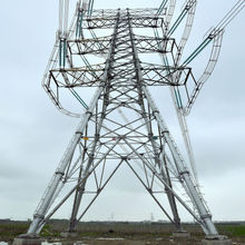 certificated 500KV Power Transmission Steel Tower