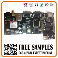 high quality electronic pcb support, multilayer 2-layer BGA pcb assembly