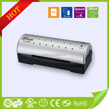 Smaill size and convenient design A6 size pouch laminating machine