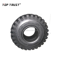Wangyu factory with brand TOP TRUST industrial tire L2 pattern 10-16.5 12-16.5 bobcat tire