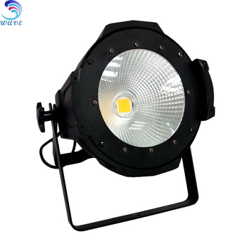 Guangzhou warm cool white 100watt cob LED par stage light in China