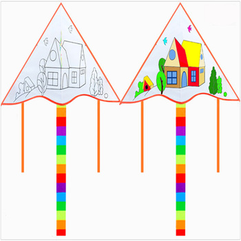 Hengda outdoor Toy DIY delta Kite for sale