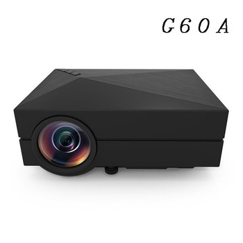 Ulewell 1000 lumen G60a projector home theater 1920*1080p LCD projector