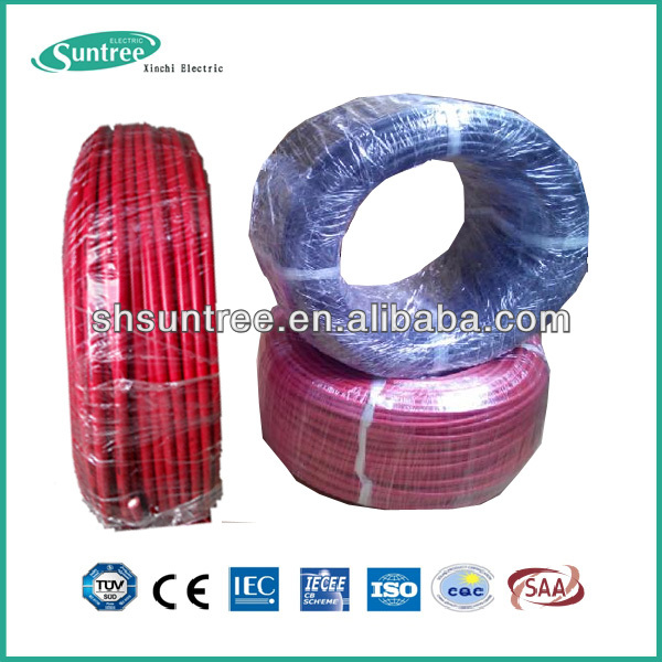 TUV Solar Cable Wire 1.5mm2 to 10mm2 1000V