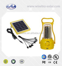 Solar Camping Tent Light /Solar Power Yellow Flashing Light