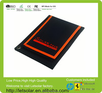 2014 hot sell factory price 7W solar panel mobile power supply solar power charger bag solar charger case for iphone5