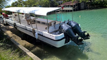 Top fiberglass High speed sightseeing cheap passenger ferry boat 30 passengers