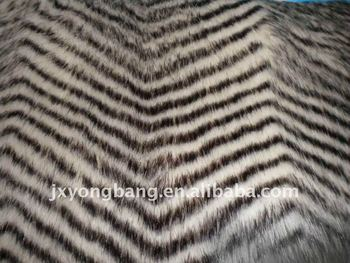2015 New Products Plush Acrylic/Polyester Animal Faux Fur Fabric
