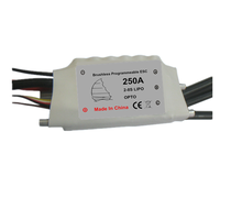 Electric regulator 8S 250A ESC for rc boat