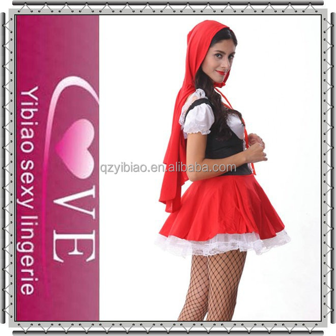 2015 High Quality Adult Halloween Costume Little Red Riding Hood ...