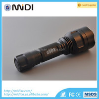 New arrival waterproof led flashlights with rechargeable battery camping led light