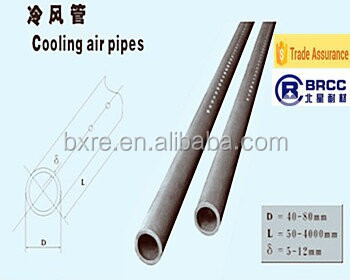 Reaction Bonded SIC beam and air cool tubes