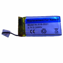 New nano 6 battery A1366 lithium battery for IPod nano 6