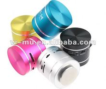 360 Degree Omni-directional Sound Portable Resonace Vibration Mini Music MP3 Speaker with Suction Cup