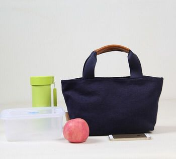 Colorful Eourpe Favorite Canvas Lunch Tote Bag Factory
