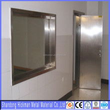 High Quality x-ray protective lead glass lead lined door for medical CT room