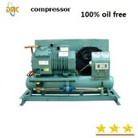 oil free scroll air compressor for dentist, 220v 3hp power with tank