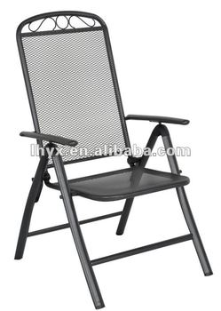 Outdoor Steel Mesh Folding Chair Buy Steel Mesh Folding