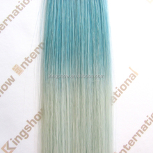 best selling new products ombre synthetic clip hair bun pieces hair extension