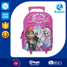 2016 New Style Supplier Kids Cheap Trolley School Bags