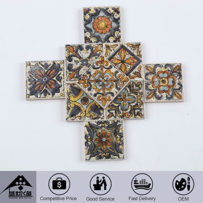 2015 Top Sale Oem Design Custom Printed Competitive Price Foshan Factory Amethyst Tiles