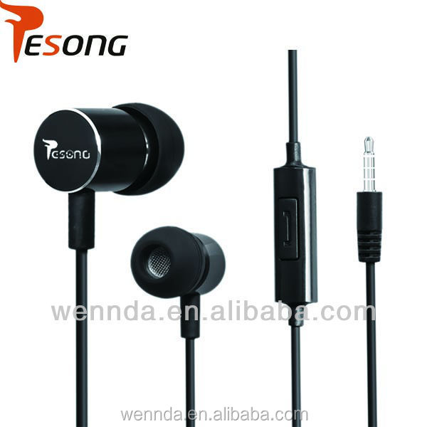 2014 top selling couple EAR PHONES with microphone
