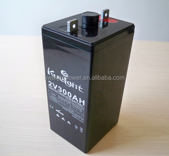 24v 300ah gel battery DC power supply 2 volt 300ah battery bank for ups system