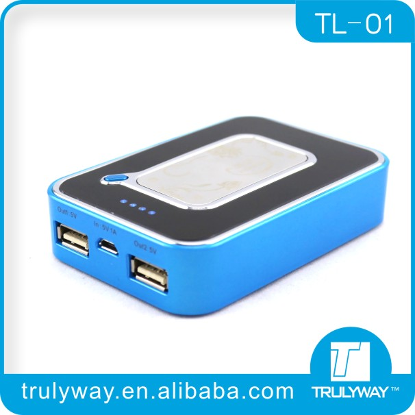 7800mAh TL01A high Capacity portable charger for mobile phone ,tablet power bank