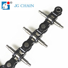 P63.5 carbon steel chain industrial chain design flexible 360 degree transmission knotted chain