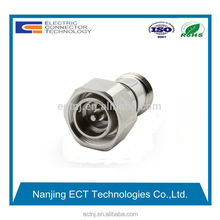 rf coaxial 4.3/10 mini din male to n female connector adapter