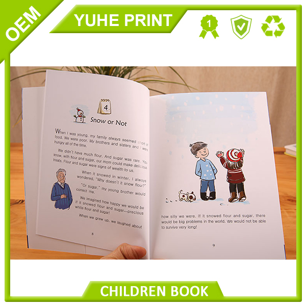 With cheap price custom design overseas full color spot UV payment safety guarantee bottom price children removable sticker book