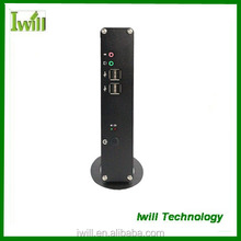 Iwill Celeron dual core 1037U embedded mini-itx slim desktop case pc