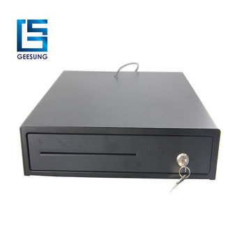 3 locks cash register drawer with cheque slot CR-405