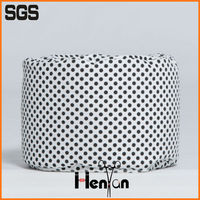 wholesale custom storage knitted ottoman