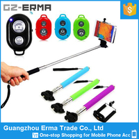 2017 new Extendable Wireless Bluetooth Shutter Selfie Monopod Stick for iPhone for Samsung