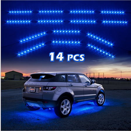 Single Color LED Underbody Neon Accent Light Kit