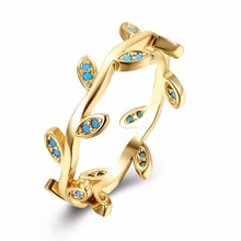 Most popular leaf jewlery ring fashion luxury kallaiter vines ring jewelry gift for women gifts