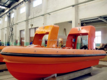 Fast speed rigid hull inflatable fender ship used rescue boat for sale