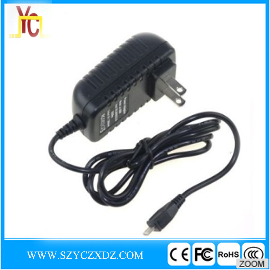AC/DC UK 5V 3A 15W black power adapter use for micro USB charger raspberry pi 3 switching power supply