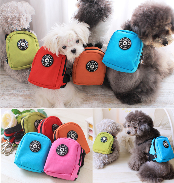 Lovable Cartoon Dog Bag Pet Products Wholesale Pets And Dogs Accessories