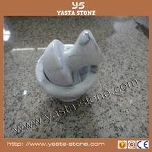Polished & honed Stone mortar and pestle crushing tool