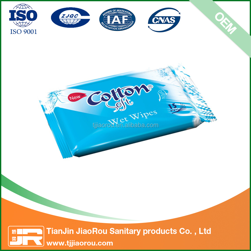 high quality promotional custom wet wipes factory