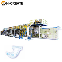 Hight Quality Low Price cost diaper making machine in india
