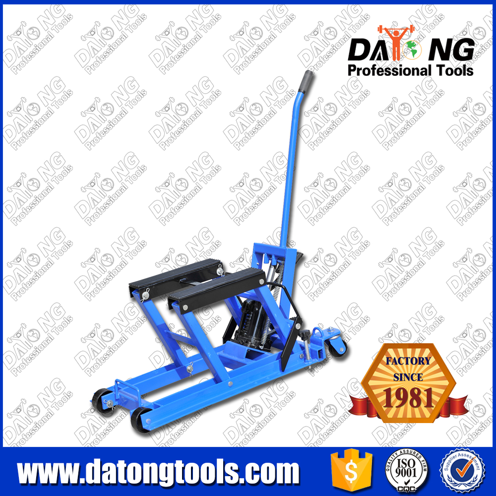 1500LB Stand Pump Motorcycle ATV Jack Lift