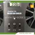 cool small size auto ventilation car fan solar power modern