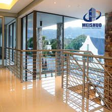 Outdoor stainless steel balustrade/handrail/banister