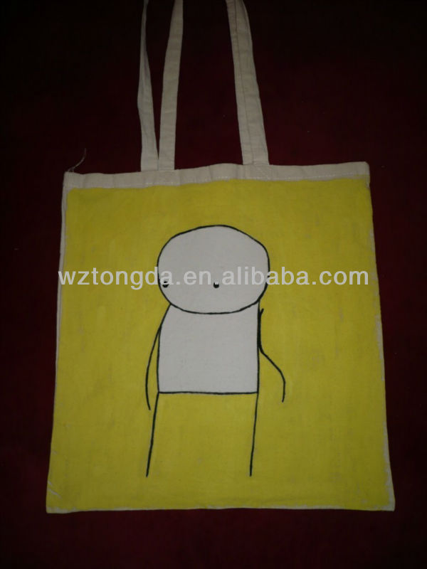 man style cottonn canvas tote bags WZ7069