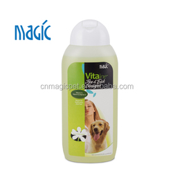 OEM anti dandruff pet flea and tick shampoo