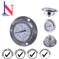 Stainless Steel Liquid Filled Bourdon Tube Pressure Gauge